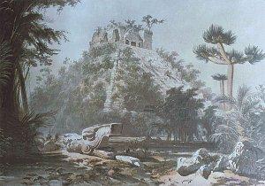 - Mexique - Yucatan 800px chichen itza castillo catherwood