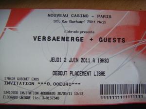 - [Concert] VersaEmerge - Nouveau Casino - 2 juin 2011 dscf3386