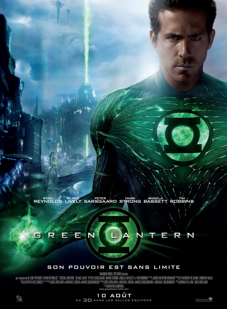 - [Critique] Green Lantern (2011) green lantern affiche france finale