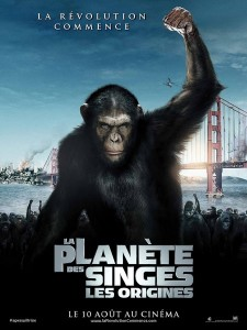 - [Critique] La Planète des Singes : les origines (2011) planete singes les origines affiche
