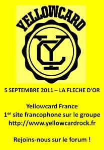 flèche d'or - [Concert] Yellowcard - 5 septembre 2011 - La Flèche D'Or slide1