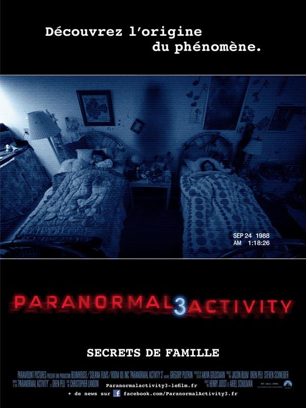 - [Critique] Paranormal Activity 3 (2011) 19816526