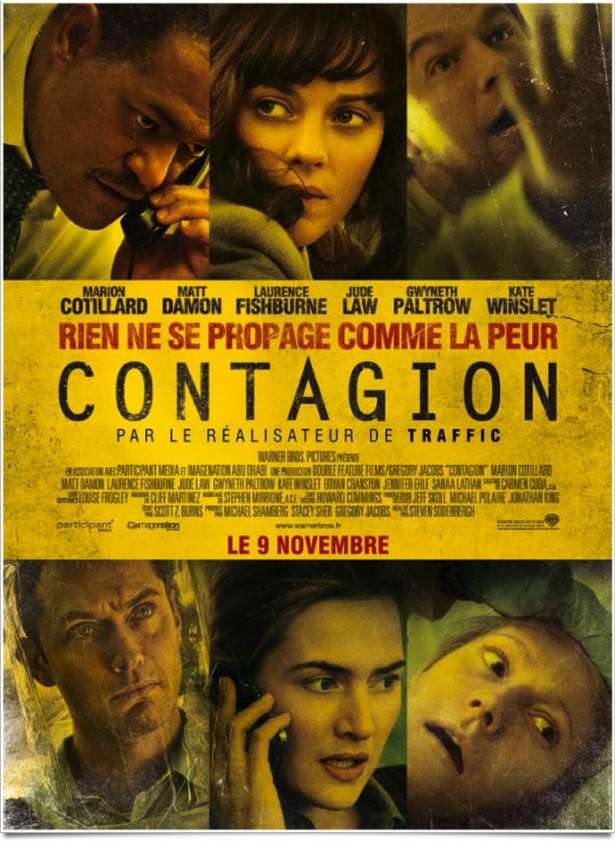 - [Critique] Contagion (2011) contagion soderbergh