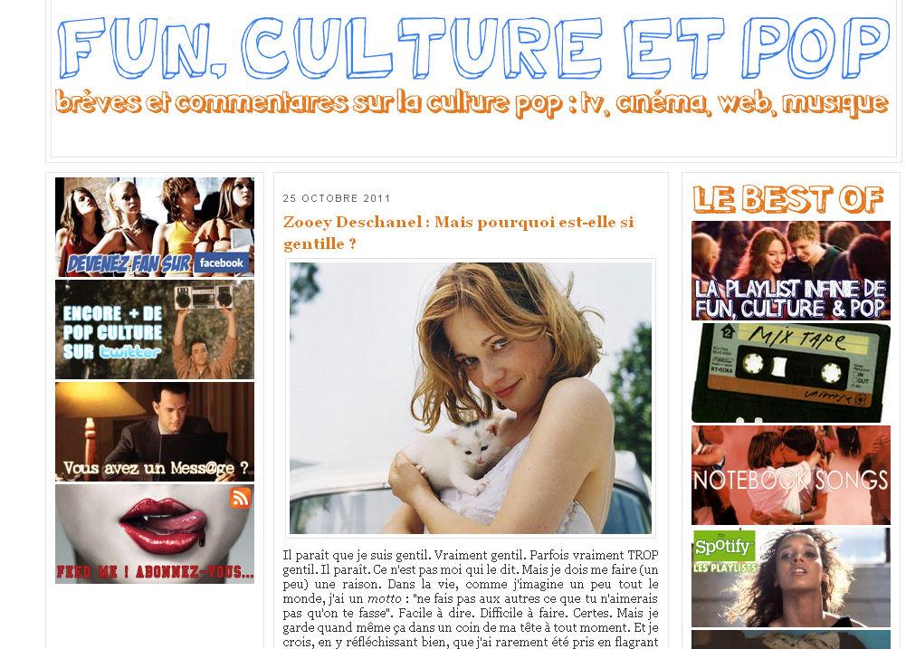- 5 minutes à tuer #3 : Fun, Culture & Pop funculturepop