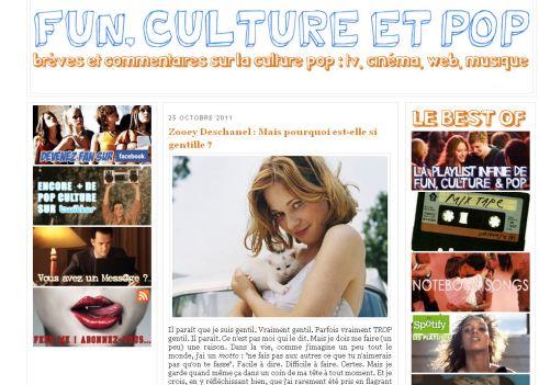 - 5 minutes à tuer #3 : Fun, Culture & Pop